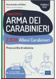Concorso 2938 Allievi Carabinieri di Nissolino