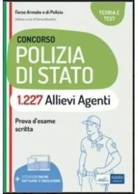 Concorso 1227 Allievi Agenti Polizia di Stato di Nissolino