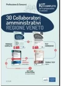 Concorso 30 Collaboratori amministrativi Regione Veneto Kit