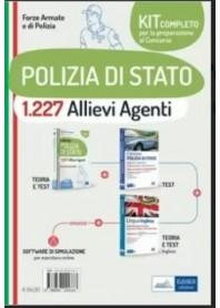 Concorso 1227 Allievi Agenti Polizia di Stato Kit di Nissolino
