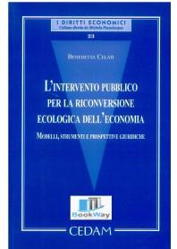 intervento pubblico per la riconversione ecologica dell'economia