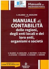 manuale di contabilitÀ delle regioni, degli enti e dei loro organi