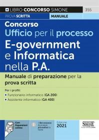 Concorso Ufficio per il Processo E-Goverment e Informatica nella P.A. Manuale