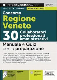 Concorso Regione Veneto 30 Collaboratori Professionali Amministrativi