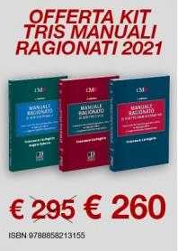 Offerte 3 Manuali Ragionati Magistratura Civile, Penale e Amministrativo di Caringella, Salerno