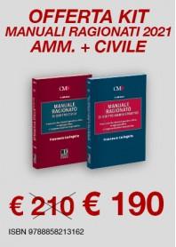 Offerte 2 Manuali Ragionati Magistratura Civile e Amministrativo di Caringella