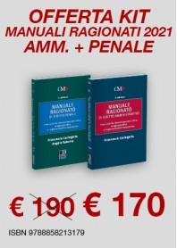 Offerte 2 Manuali Ragionati Magistratura Penale e Amministrativo di Caringella, Salerno