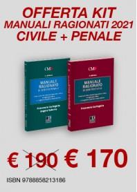 Offerte 2 Manuali Ragionati Magistratura Civile e Penale di Caringella, Salerno