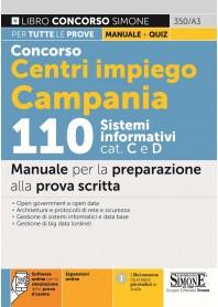 Concorso Centri impiego Campania 110 Sistemi Informativi cat. C e D