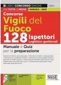 Concorso Vigili del Fuoco 128 Ispettori Logistico-Gestionali Manuale