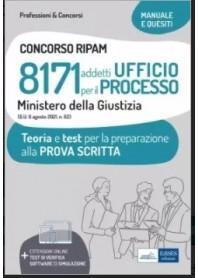 Concorso RIPAM 8171 Ufficio per il Processo Ministero della Giustizia