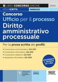Concorso Ufficio per il Processo Diritto Amministrativo Processuale