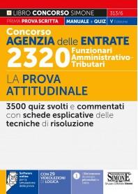 Concorso Agenzia Entrate 2320 Funzionari Amministrativo Tributari Prova Attitudinale