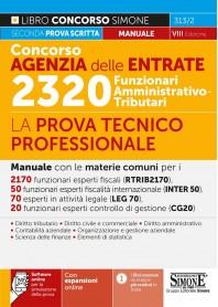 Concorso Agenzia delle Entrate 2320 Funzionari Amministrativo Tributari