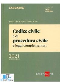 codice civile e di procedura civile settembre 2021