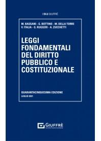 Leggi Fondamentali del Diritto Pubblico e Costituzionale di Bassani, Bottino, Della Torre, Italia, Ruggeri, Zucchetti