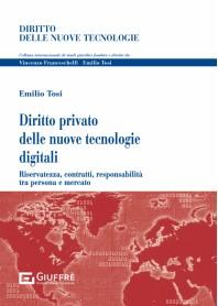 Diritto Privato Nuove Tecnologie Digit di Tosi