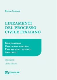Lineamenti del Processo Civile Italiano Vol.2 di Sassani