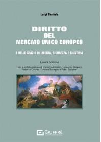 Diritto del Mercato Unico Europeo di Daniele