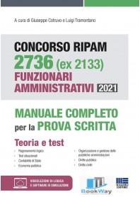 ripam 2736 (ex 2133) funzionari amministrativi 2021 concorso