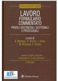 lavoro formulario commentato. profili sostanziali, gestionali e processuali