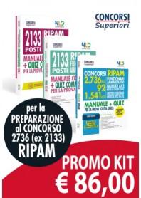 2736 RIPAM FUNZIONARI AMMINISTRATIVI Kit