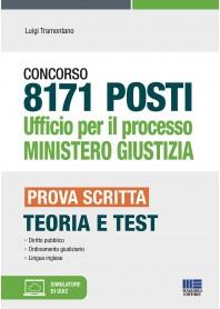 concorso 8171 posti ufficio per il processo ministero giustizia.
