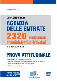 concorso 2021 agenzia delle entrate. 2320 funzionari amministrativo-tributari.