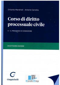 corso diritto processuale civile 2vol.