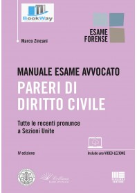 manuale esame avvocato - pareri di diritto civile