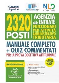 2320 agenzia delle entrate - funzionari per attivitÀ amministrativo tributaria