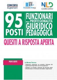 95 funzionari giuridico-pedagogico