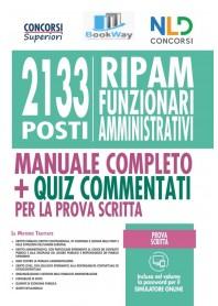 2133 funzionari amministrativi.