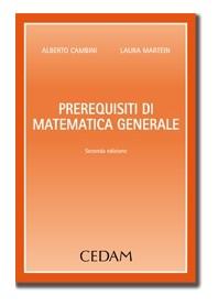 Prerequisiti di Matematica Generale di Cambini, Martein