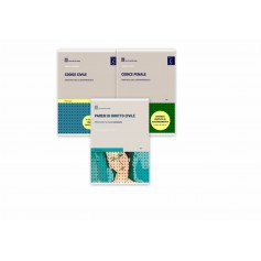 Offerte 2 Codici Commentati Esame Avvocato 2021 (CC + CP + Omaggio Pareri di Diritto Civile) Giuffre'