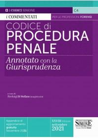 Codice Procedura Penale Annotato con la Giurisprudenza di Di Stefano