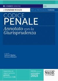 Codice Penale Annotati con la Giurisprudenza di Marino, Petrucci