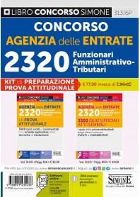 Concorso Agenzia delle Entrate 2320 Kit