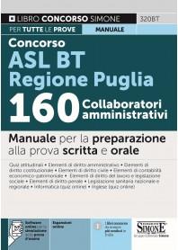 Concorso ASL BAT Regione Puglia 160 Collaboratori Amministrativi