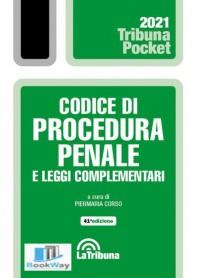 codice di procedura penale e leggi complementari 2021 - pocket