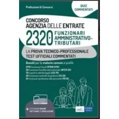 Concorso 2320 Funzionari Agenzia delle Entrate Quiz Prova Tecnico-Professionale