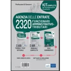 Concorso 2320 Funzionari Agenzia delle Entrate Kit