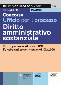 Concorso Ufficio per il Processo Diritto Amministrativo Sostanziale