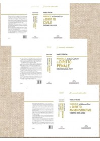 Offerta 3 Manuali Sistematici di Diritto Civile, Penale e Amministrativo di Fratini