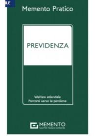 Memento Previdenza 2021 di Brisciani, Sica