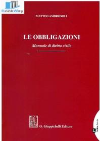 obbligazioni le. manuale di diritto civile