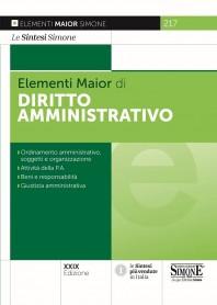 Elementi Maior di Diritto Amministrativo