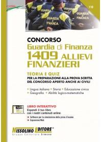 Concorso Guardia di Finanza 1409 Allievi Finanzieri