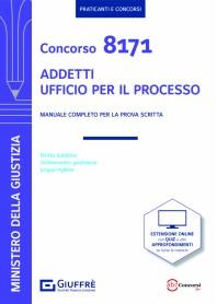 Concorso 8171 Addetti Ufficio per il Processo