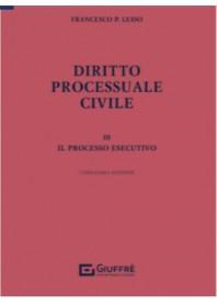 Diritto Processuale Civile Vol. 3 di Luiso